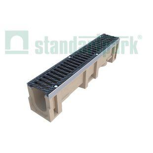 Лоток из полимербетона (комплект) DN 110, Н 230