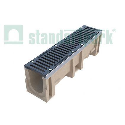 Лоток из полимербетона (комплект) DN 160, Н 310