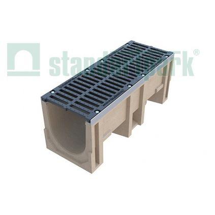Лоток из полимербетона  (комплект) DN 300, Н 400