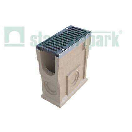 Пескоуловитель полимербетонный с чугунной решеткой DN160 MAX