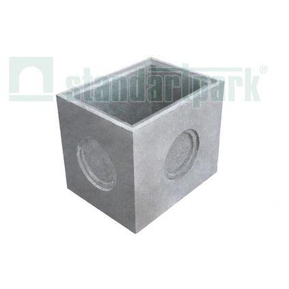 Дождеприемник секционный бетонный (средняя часть) DN300 MAX