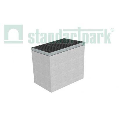 Дождеприемник секционный бетонный верхняя часть, DN500 MAX