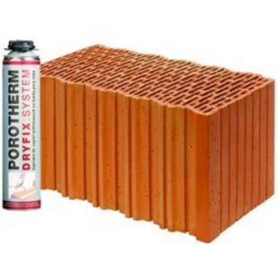 Блок Porotherm-44 EKO + Dryfix