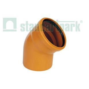 Knee PVC 110/45 ° outdoor...