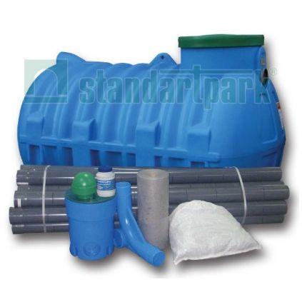 Септики предварительной очистки стоков полиэтилен.