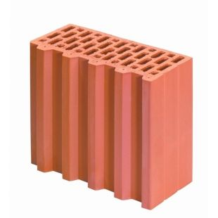 Блок Porotherm-30 1/2 P+W половинка