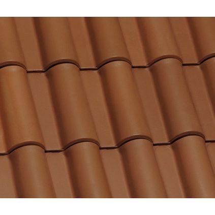Черепица керамическая Margon SUPRA+ коричневая лагуна