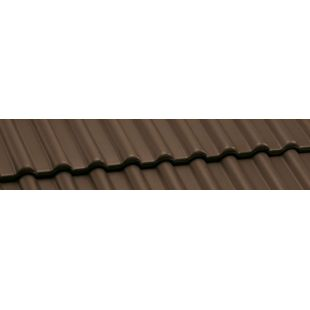 Черепица Nelskamp DS 5 ангоба коричневая