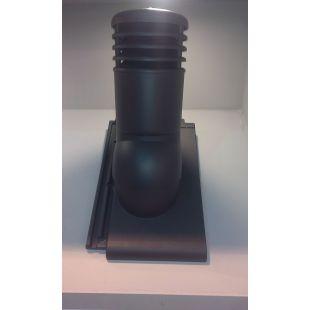 Вентиляционная черепица KRONO-PLAST Roben Bergamo антрацит