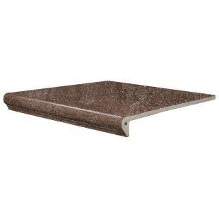 Плитка для ступеней SDS keramik Bremen dunkelbraun