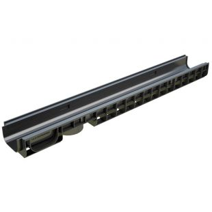 Plastic tray H80, DN100