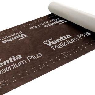 Мембрана гидроизоляционная диффузионная Ventia Platinium Plus