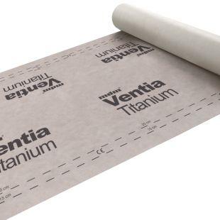 Мембрана гидроизоляционная диффузионная Ventia Titanium