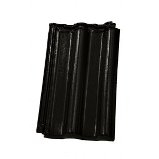 Черепица Nelskamp DS 5 чёрная глазурь