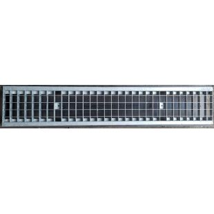 Решетка водоприемная 513 стальная оцинкованная ячеистая