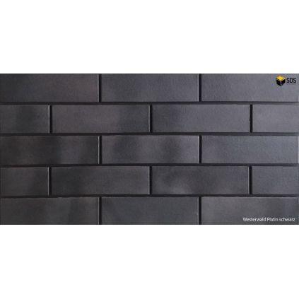 Плитка клинкерная platin-schwarz SDS keramik