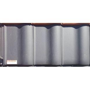 Черепица керамическая Nelskamp F 8 1/2 чёрная ангоба