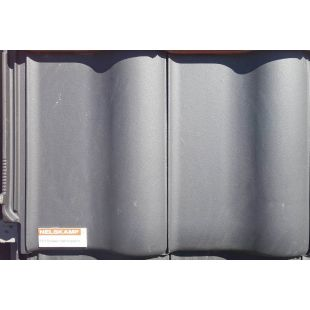 Черепица керамическая Nelskamp F 8 1/2 schwarz matt