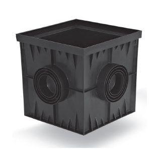 Дождеприемник пластиковый 300х300 черный