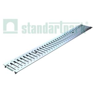 Grate stainless steel tray...
