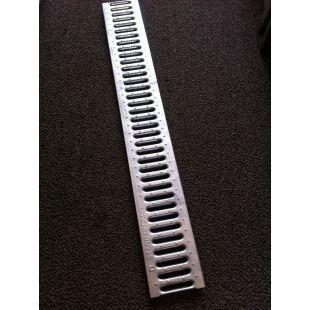 Решетка водоприемная штампованная стальная оцинкованная DN100