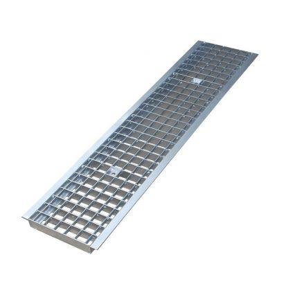 Решетка водоприемная ячеистая стальная оцинкованная под крепления DN100