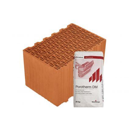 Блок Porotherm-38 Klima Profi