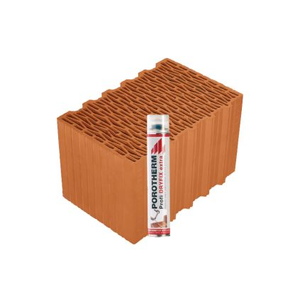 Блок Porotherm-38 Klima Dryfix