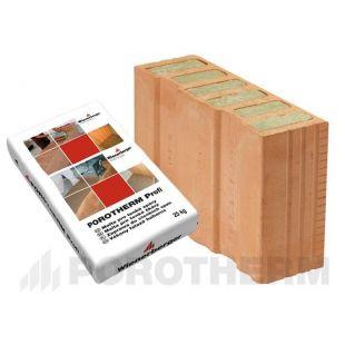 Блок-половинка Porotherm-38 1/2 Thermo Profi