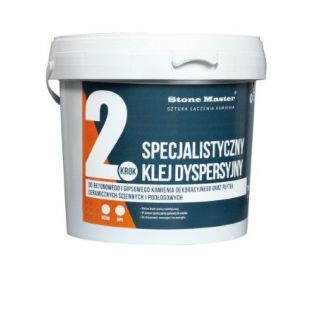 Tile adhesive dispersion