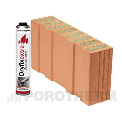 Блок половинка Porotherm-50 1/2 T Dryfix