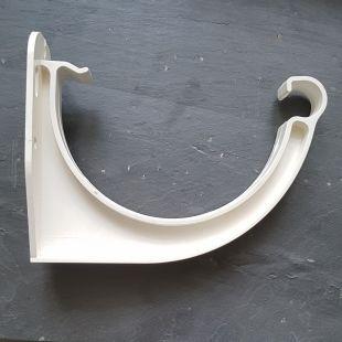 Кронштейн желоба Galeco ПВХ 130 белый
