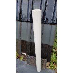 Труба 100 водосточная Galeco ПВХ 130 белая