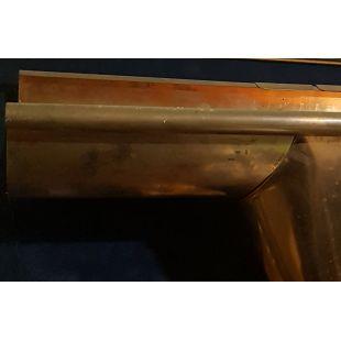 Желоб медный Zambelli 127 водосточный кровельный
