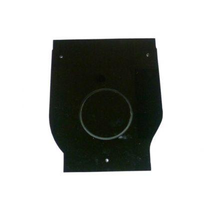 Заглушка торцевая пластиковая для лотка водоотводного пластикового DN100