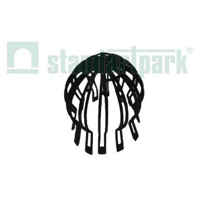 Вставка защитная пластиковая для лотка водоотводного 100мм