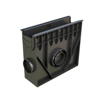 Пескоуловитель пластиковый 0,5м H420 DN100