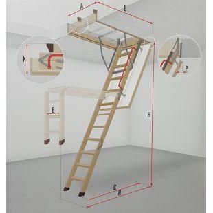 Чердачная лестница Fakro...