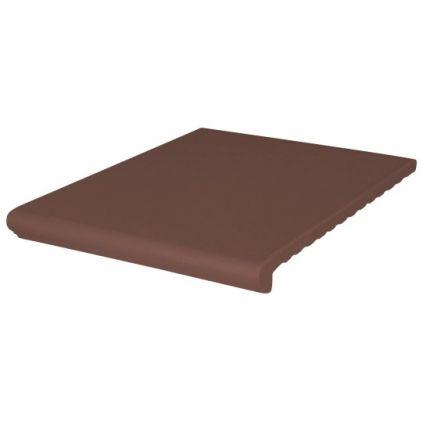 Плитка-ступень King коричневая