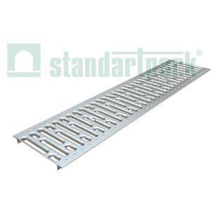Решетка водоприемная штампованная стальная оцинкованная под крепления DN200