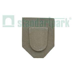 Заглушка торцевая полимербетонная для лотка водоотводного полимербетонного DN200