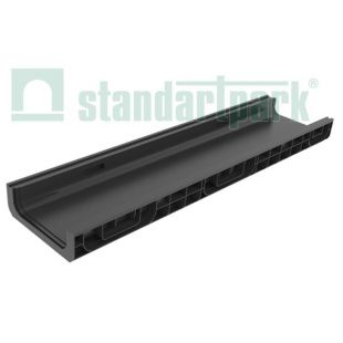 Лоток водоотводной пластиковый с боковым подключением H80