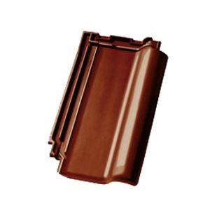 Черепица Nelskamp F10 ангоба благородная миндально-коричнеавя