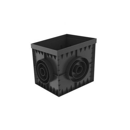 Дощоприймач пластиковий 300х300 чорний