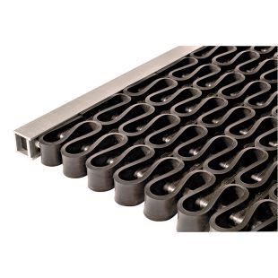 Решетка СИТИ алюминиевая грязезащитная