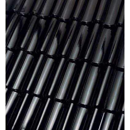 Черепица Roben Bornholm Ангоба черная