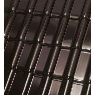 Черепица Roben Monza PLUS Ангоба коричневая