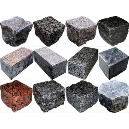 Materials made of stone