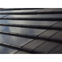 Солнечные модули, солнечная черепица, solar roof