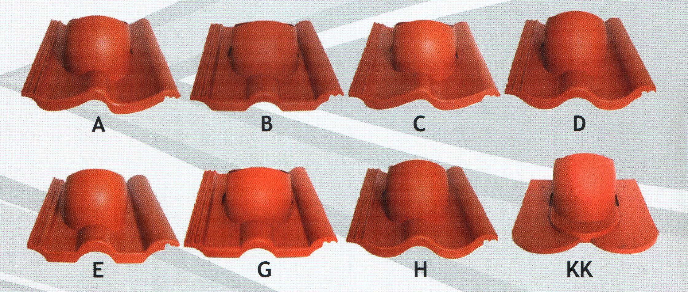 Проходная черепица для бетонной кровли